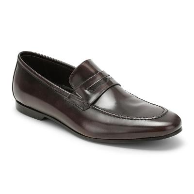 Pantofola  classica   spazzolato testa di moro