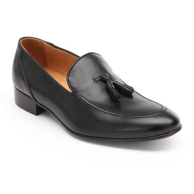 Pantofola  fiocchi nero